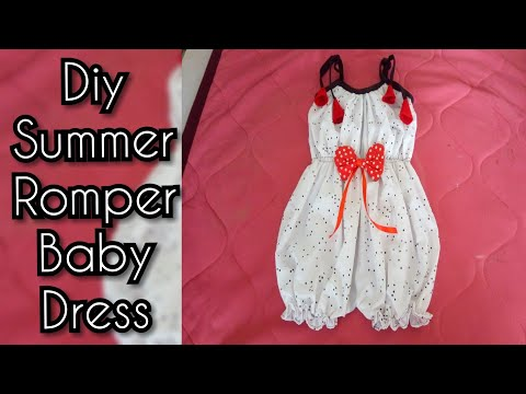 Sew a Baby girl Romper | jump suit