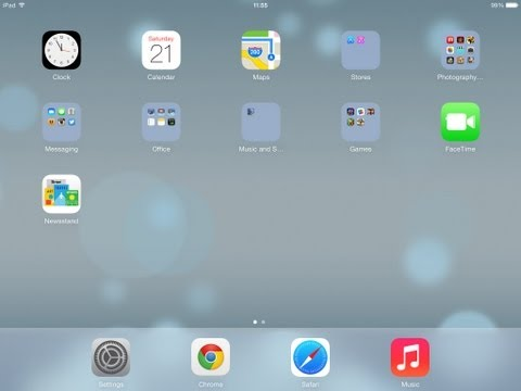 iOS 7 on ipad2 - How to close apps running in the background   TUTORIAL