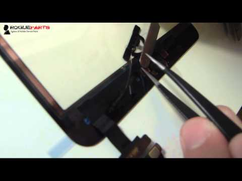 iPad Mini Repair - Seating And Securing The Home Button