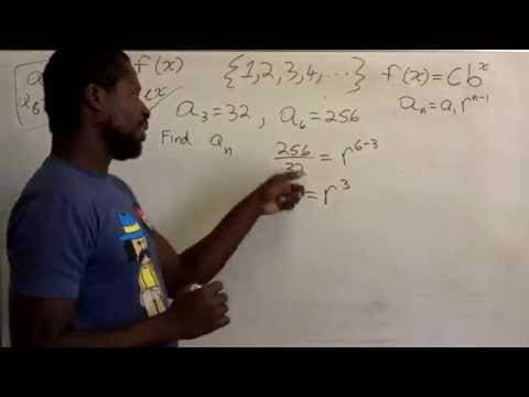 Finding The nth Term Of A Geometric Sequence