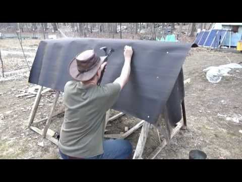 Building A Tiny Chicken House On Wheels Part II