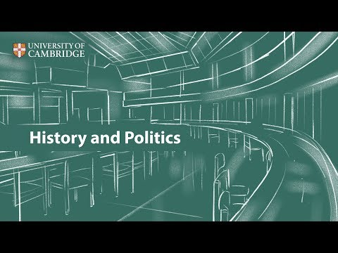 History and Politics at Cambridge