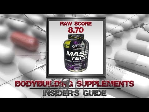 Muscle Tech Mass Tech Advanced Mass Gainer Review | Design For Hardgainers?