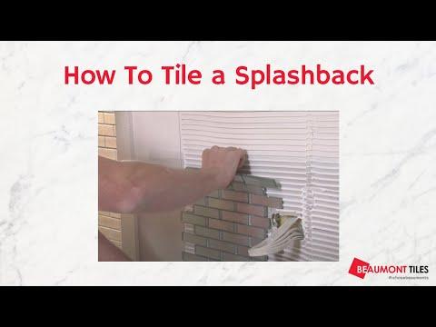 How to Tile a Splashback: DIY Tiling Made Easy