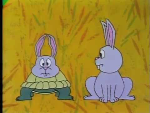 Classic Sesame Street animation: Role Reversal - Turtle & Rabbit