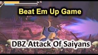 DBZ Attack Of Saiyans OpenBor Game (Stage 8) Part 2/3 - Love