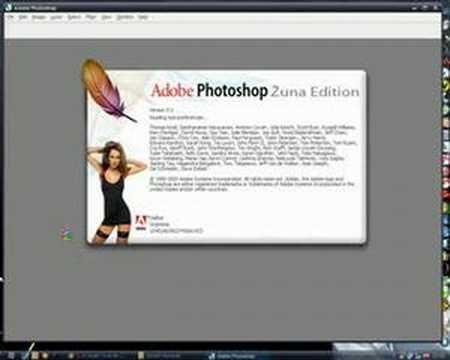 Adobe Photoshop CS2 - new splash screen