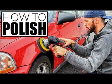 How To Polish A Car - Car Detailing