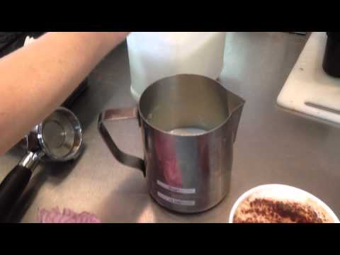 How to make hot chocolate with the new coffee machine