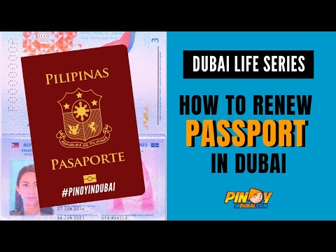 How to book Philippine passport renewal in Dubai