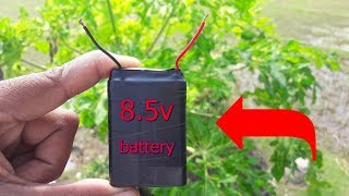 how to make 9volt battery at home