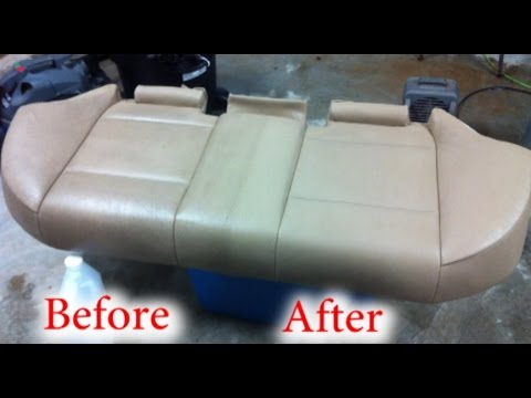 Clean Car Leather Seats Like a Pro with NO SPECIAL TOOLS!