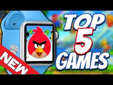 TOP 5 APP STORE GAMES!