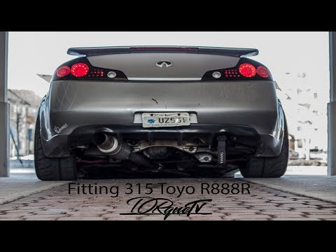 Car Vlog (G35 Coupe) Fitment Issues New Wheels