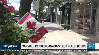 Download Oakville named Canada's best place to live Video