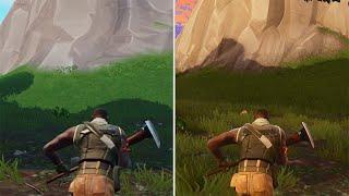 Fortnite Graphics Comparison: iOS vs. PC