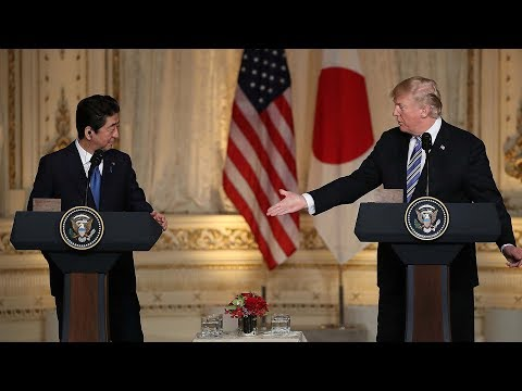 Abe and Trump agree to meet before planned Singapore summit