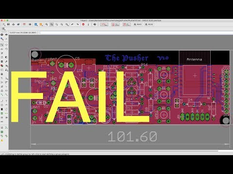 Eagle PCB Design FAIL! Run the ERC!!