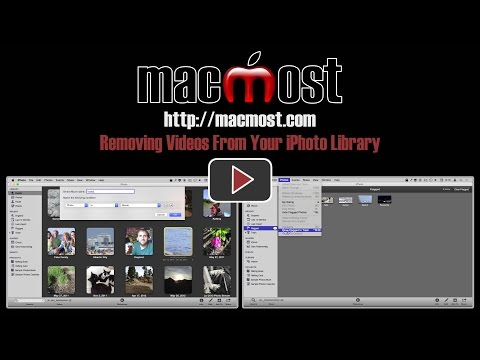 Removing Videos From Your iPhoto Library (#1063)