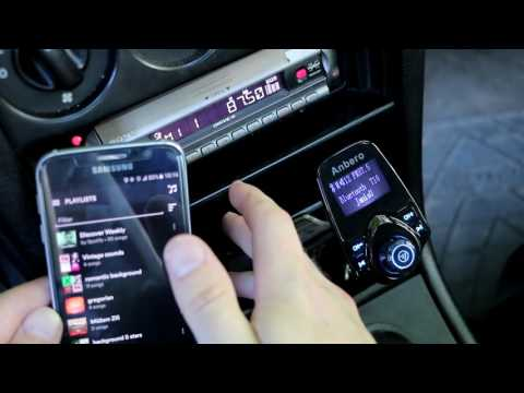 REVIEW- Anbero T10 Car wireless mp3 fm transmitter