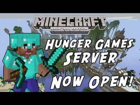 Minecraft Xbox 360 Edition - Hunger Games Server (Now Open)