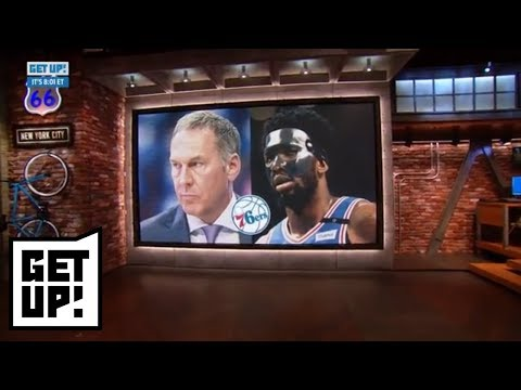 Joel Embiid: 76ers GM called me to deny using Twitter accounts to criticize players | Get Up! | ESPN