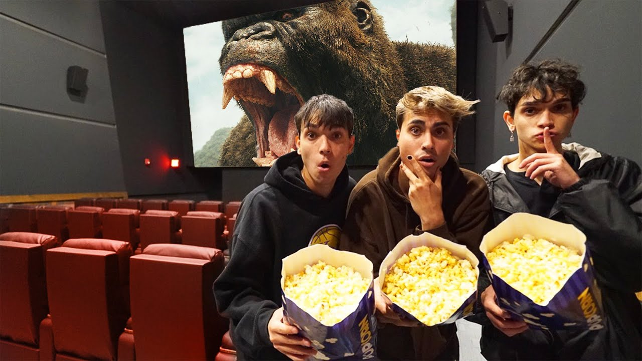 SNEAKING Into A Movie Theater for 24 HOURS!
