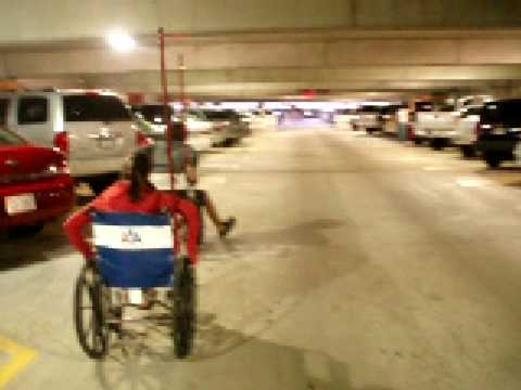 Airport Wheelchair Race