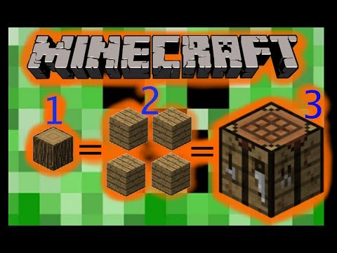 How Do You Make A Crafting Table In Minecraft Mac