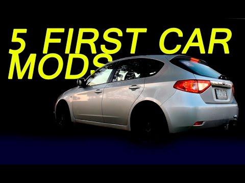 5 Cheap First Car Mods