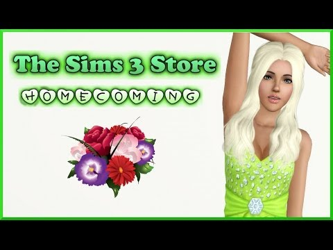 The Sims 3 Store : Homecoming Set Overview/Review + Giveaway!