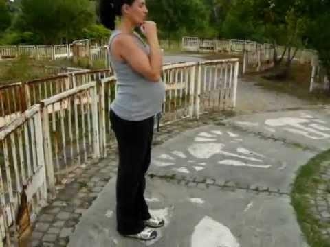 Pregnancy hip mobility exercises