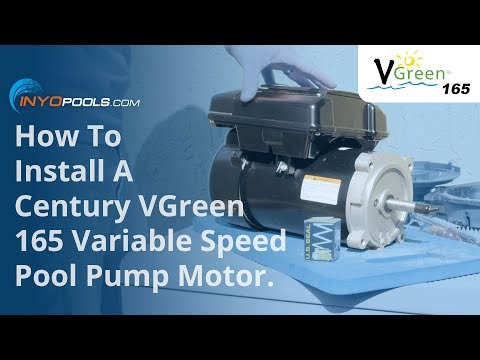 How To: Install A VGreen 165 Variable Speed Pool Pump Motor