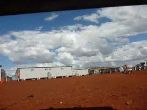 The life on a mining village in Western Australia
