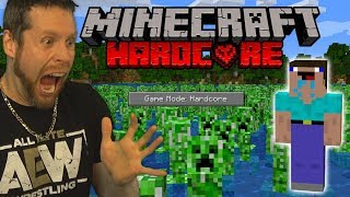 I tried Minecraft Hardcore and this happened...