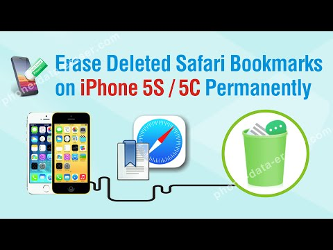 How to Erase Deleted Safari Bookmarks on iPhone 5S / 5C Permanently