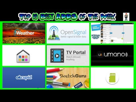 #184 Best APPS of The Week - Top 10 - Signal Portal Launcher
