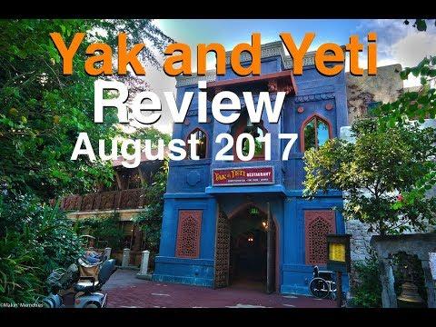Yak and Yeti Animal Kingdom Orlando FULL Review August 2017