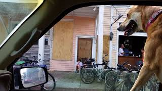 Key West Duval st after hurricane Irma
