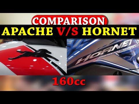 APACHE RTR RACE EDITION V/S HORNET SPL. EDITION COMPARISON