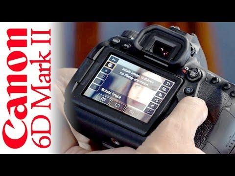 Canon 6D Mk II Tutorial (Video User Guide)