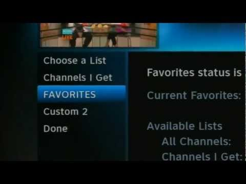 Solid Signal: Create Favorites Lists on a DIRECTV box
