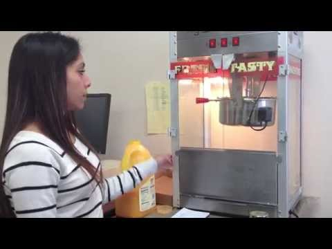 How to Use Popcorn Machine