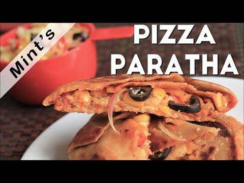 How To Make Pizza Paratha | Pizza Paratha Recipe | Kid's Tiffin Box Recipe