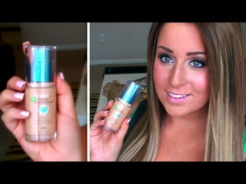 ♥ First Impressions: Cover Girl Outlast 3 in 1 Foundation + Application