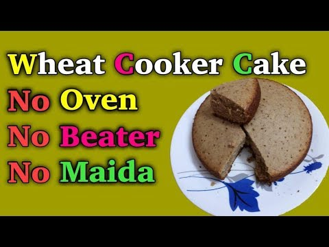 Wheat cooker cake in malayalam / cooker cake / Banana cake / how to make cake without oven