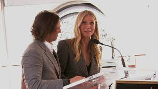 Paltrow thanks Ryan Murphy for introducing her to her husband