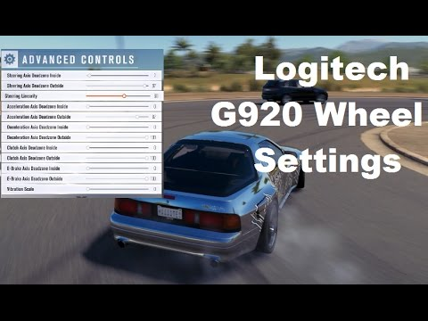 Forza Horizon 3 (FH3) Wheel Settings (G920) I can't Multitask