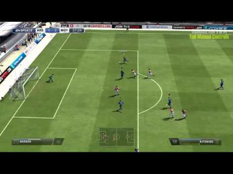 FIFA 13 PC Pro Clubs Goals Compilation #1 (full manual controls)