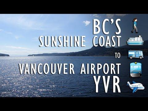 Sunshine Coast, BC to Vancouver International Airport